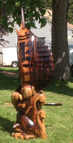 AM Sculptures- Sailfish 2
