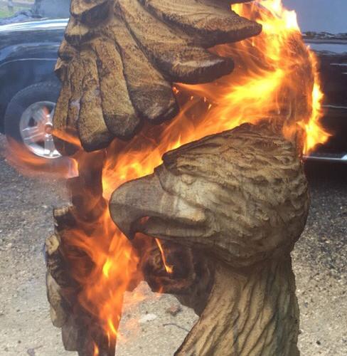 Twisted-Eagle-Burning