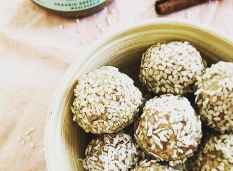 Tahini & Coconut Energy Balls
