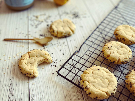 TAHINI LEMON COOKIES