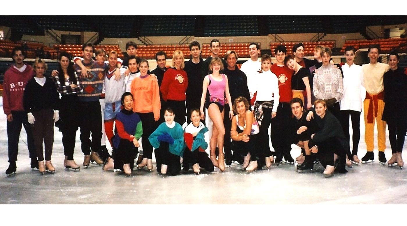 Cinderella on Ice Rehearsals