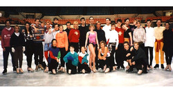 Cinderella on Ice Rehearsals