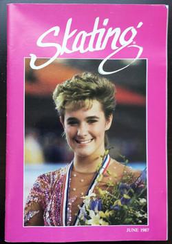June 1987 Skating Magazine Cover