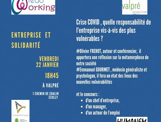 Credoworking du 22/01/21 à 18h30 -  Responsabilité des entreprises en temps de COVID