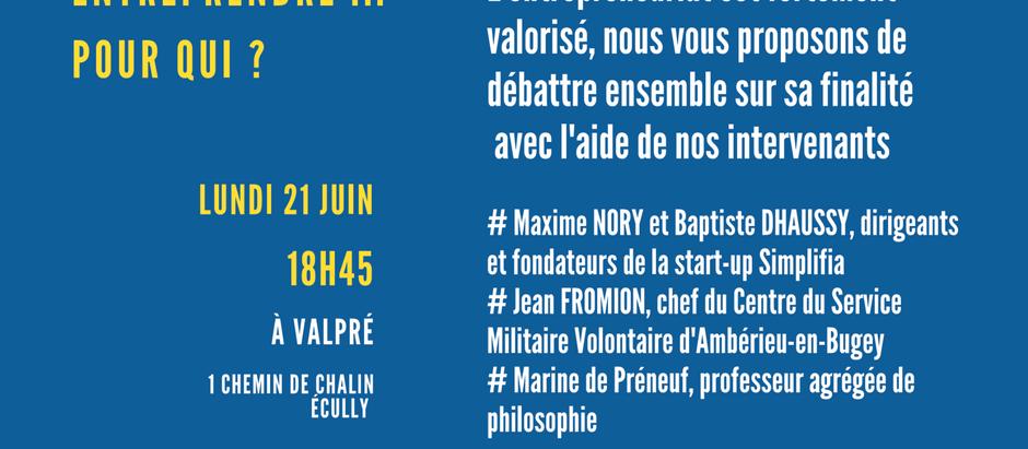 21/06/21 - 18:30 - Entreprendre, pour Qui? by Credoworking