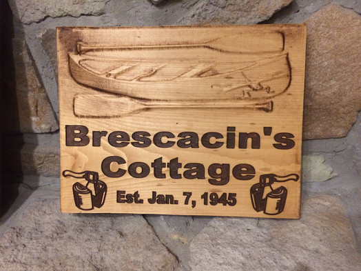 Personalized Cottage Sign