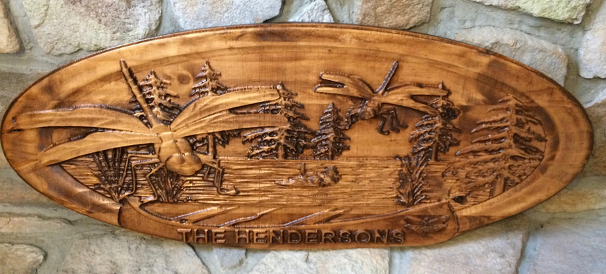 Personalized Wall Mount plaque
