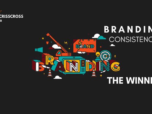 Branding & the winner is Consistency