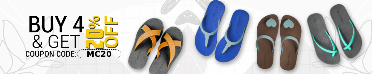 Get 20% off when you buy 4 or more pairs using coupon code MC20