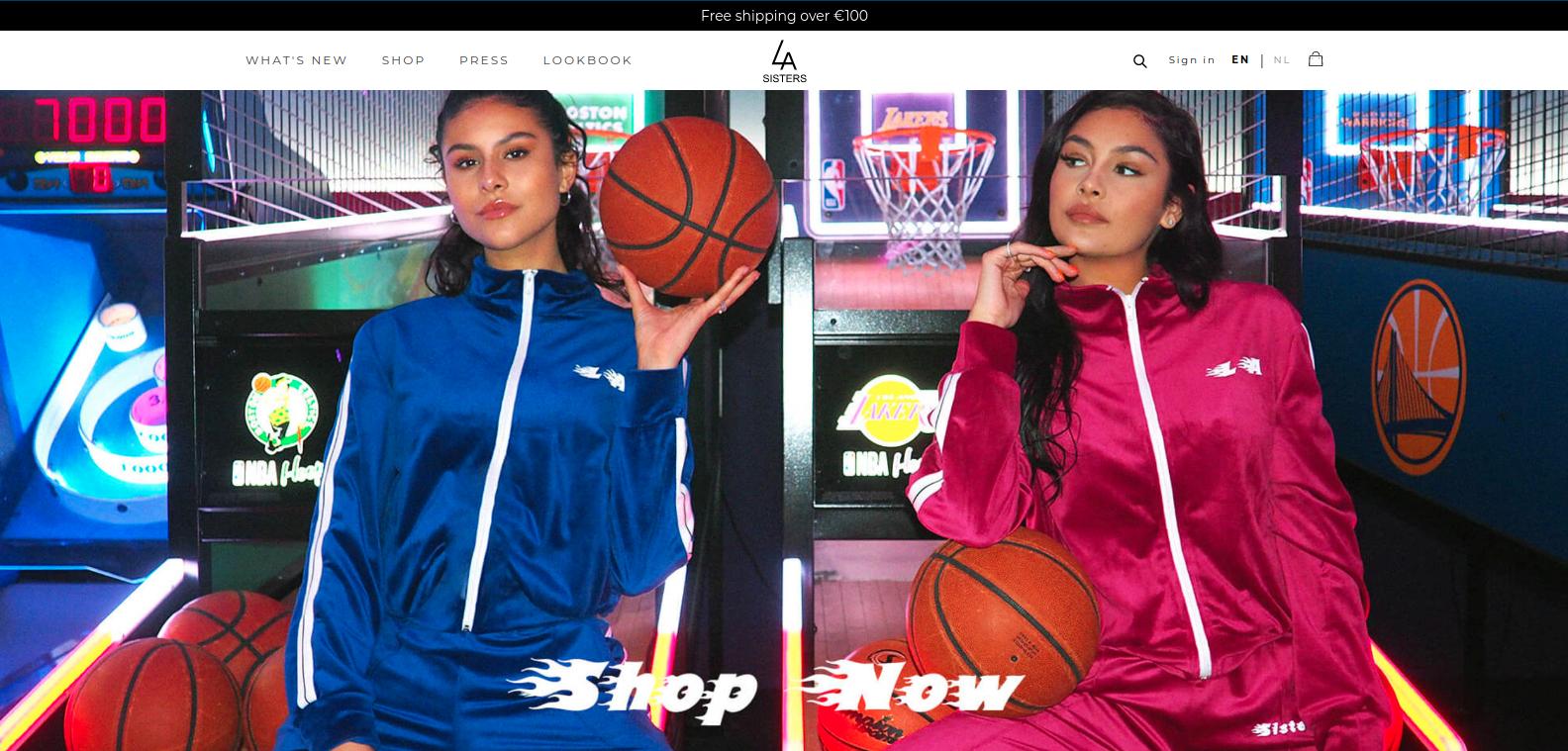 LASister Homepage