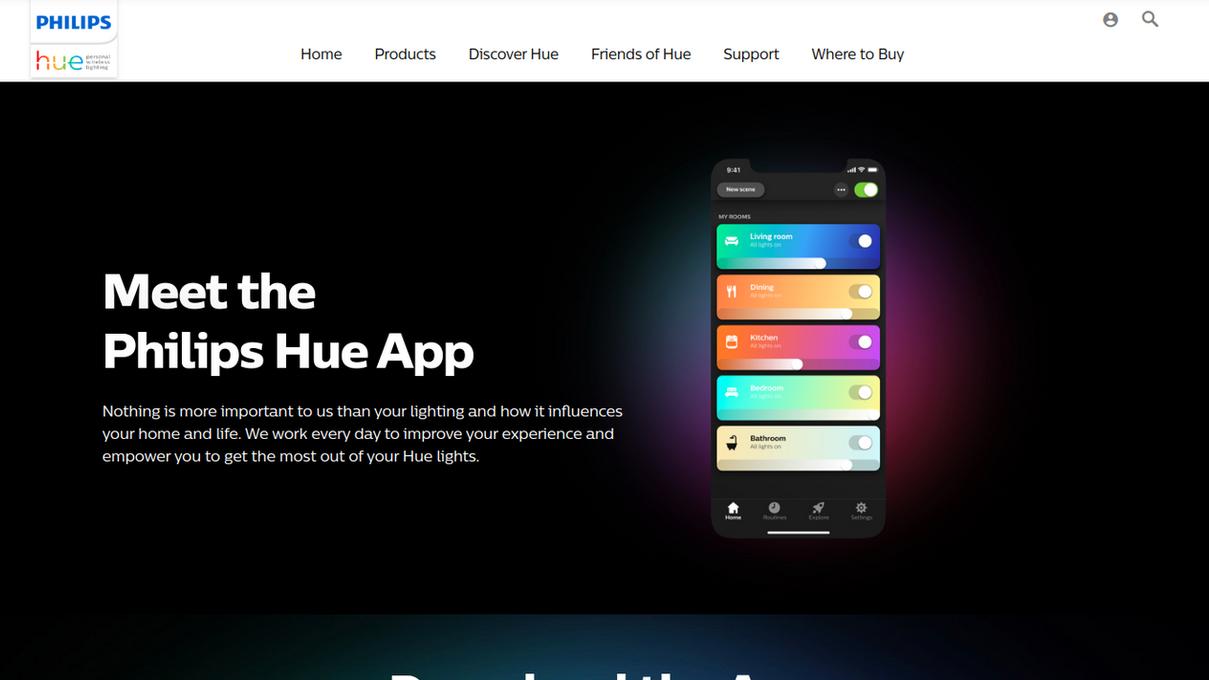 Philips Hue Mobile App