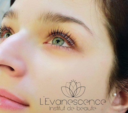 L'Evanescence / Réhaussement de cils