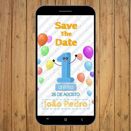 Save the Date - Aniversário