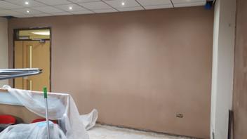 Michael Hurdus plastering,office refit