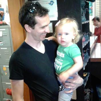Damian & his daughter, Faye