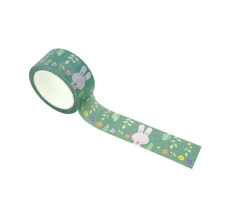 Bunny Floral Washi Masking Tape