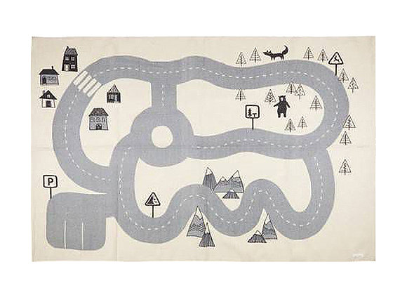 Bloomingville Little Town Play Rug