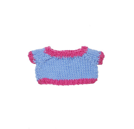 BW Two Tone Knit Blue & Pink