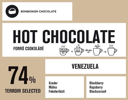 Venezuelai forró csokoládé – 74%