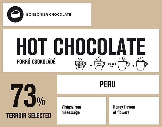 Perui forró csokoládé – 73%