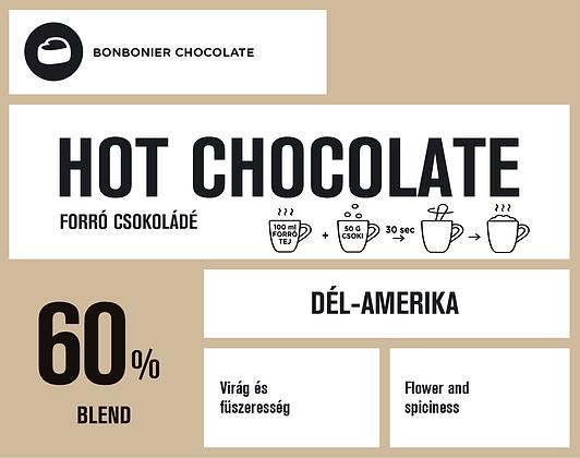 Dél-Amerikai forró csokoládé – 60%
