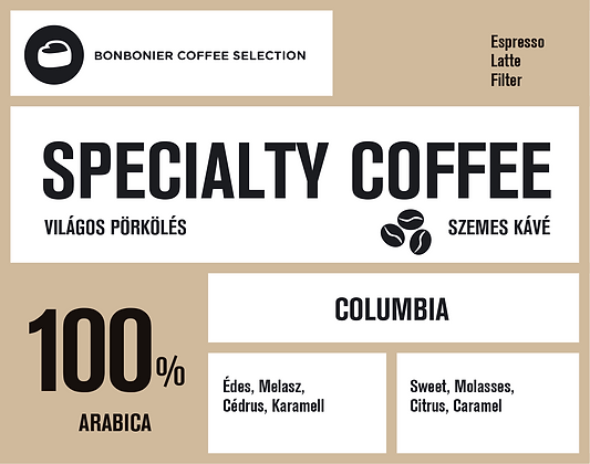 Specialty coffee – Kolumbia