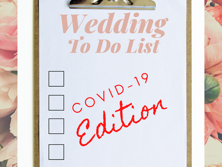 Planning a Wedding While Dealing with COVID-19