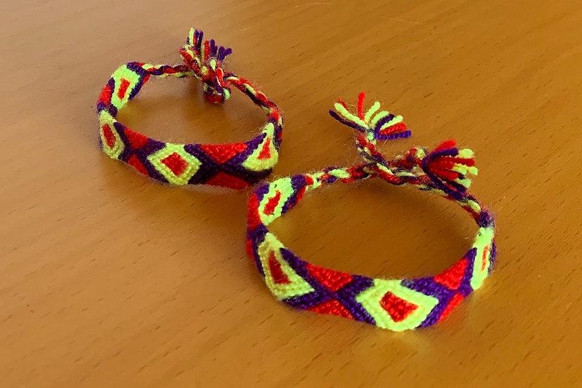 Friendship Bracelet Circus (Matching Pair)