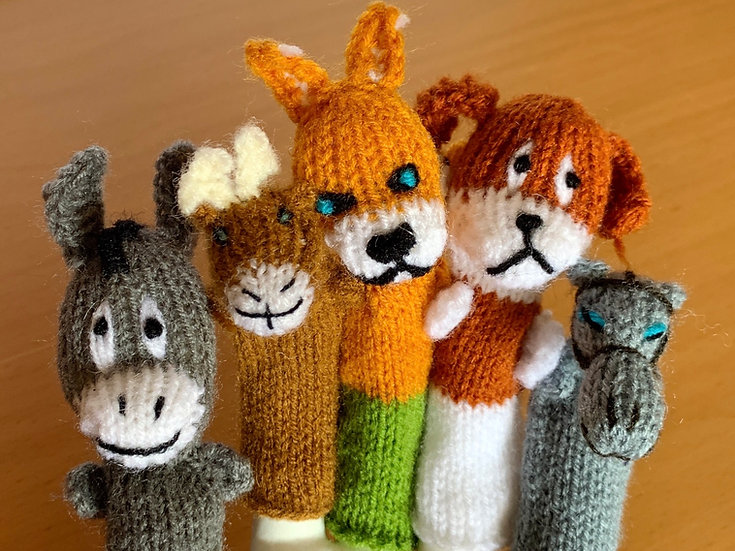 Finger Puppets (Farm Friends)