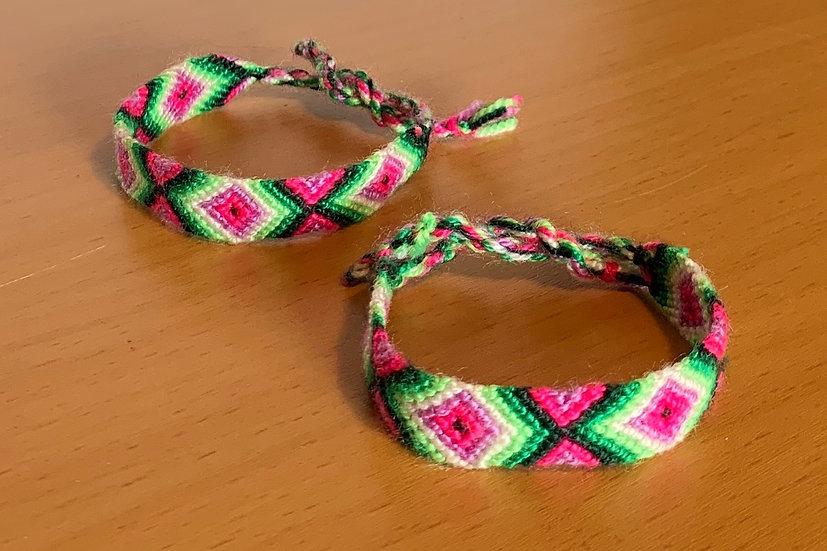 Friendship Bracelet Spring (Matching Pair)