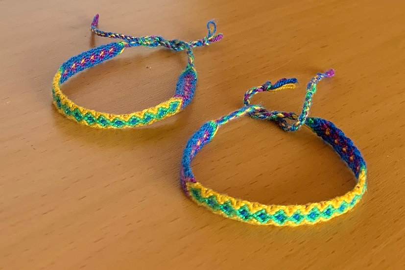 Friendship Bracelet Ocean (Matching Pair)