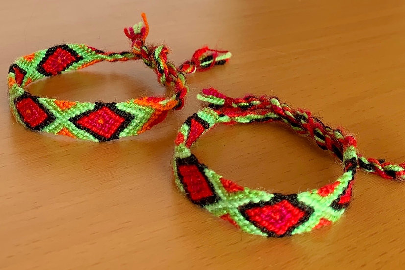 Friendship Bracelet Graffiti (Matching Pair)