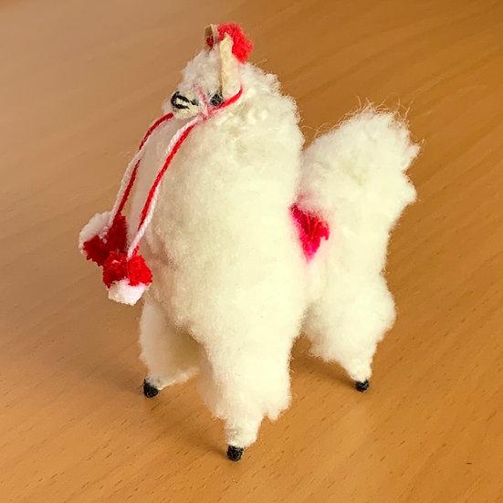 Festive Llama (White)