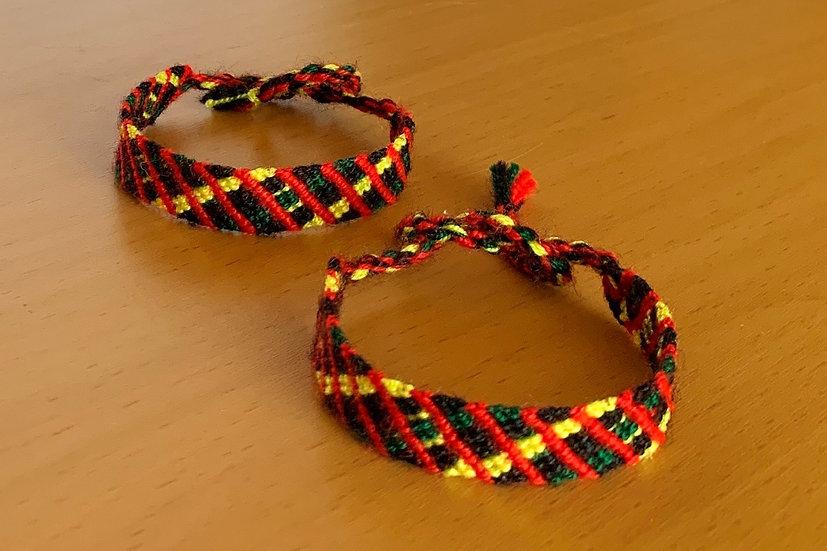 Friendship Bracelet Safari (Matching Pair)