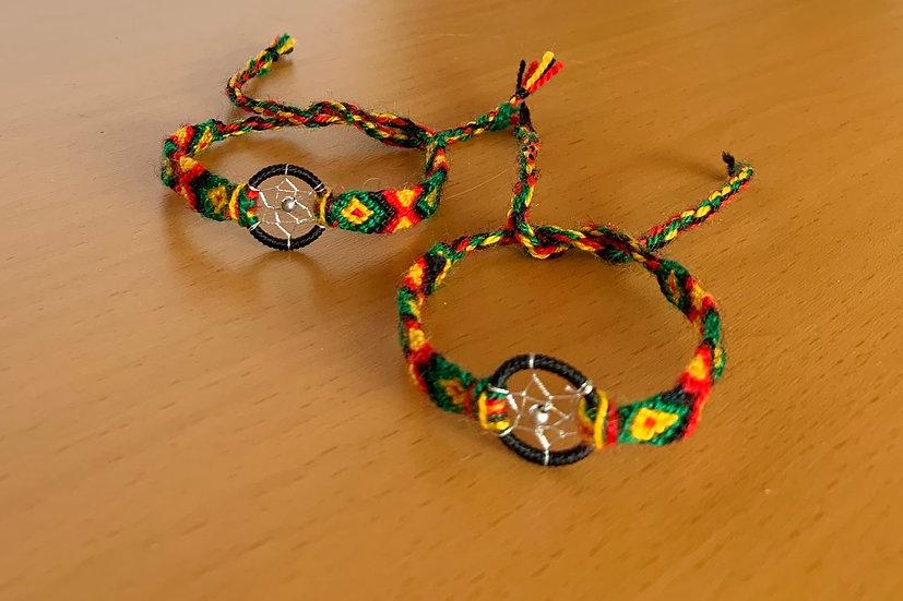 Friendship Bracelet Dreamcatcher (Matching Pair)