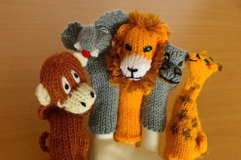 Finger Puppets (Jungle Friends)