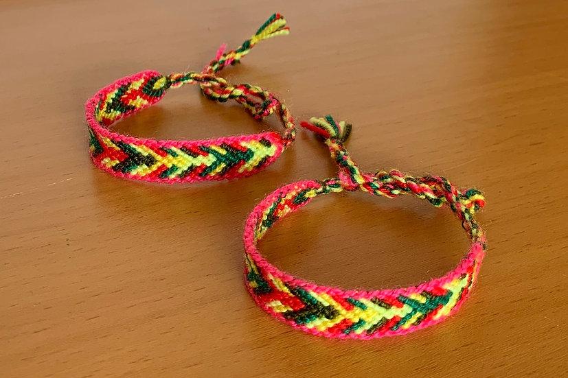 Friendship Bracelet Arrows (Matching Pair)
