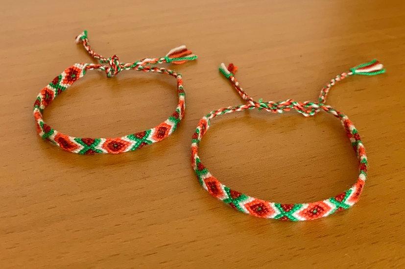 Friendship Bracelet Passion (Matching Pair)