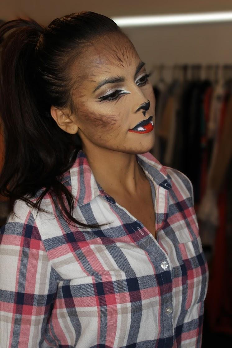 How to do a werewolf outfit makeupfor halloween