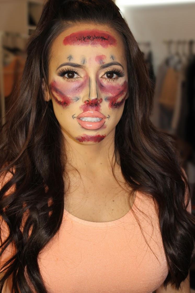 plastic surgery celebrity halloween makeup