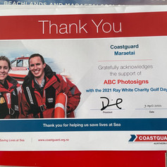 Coastguard Sponsorship 2021