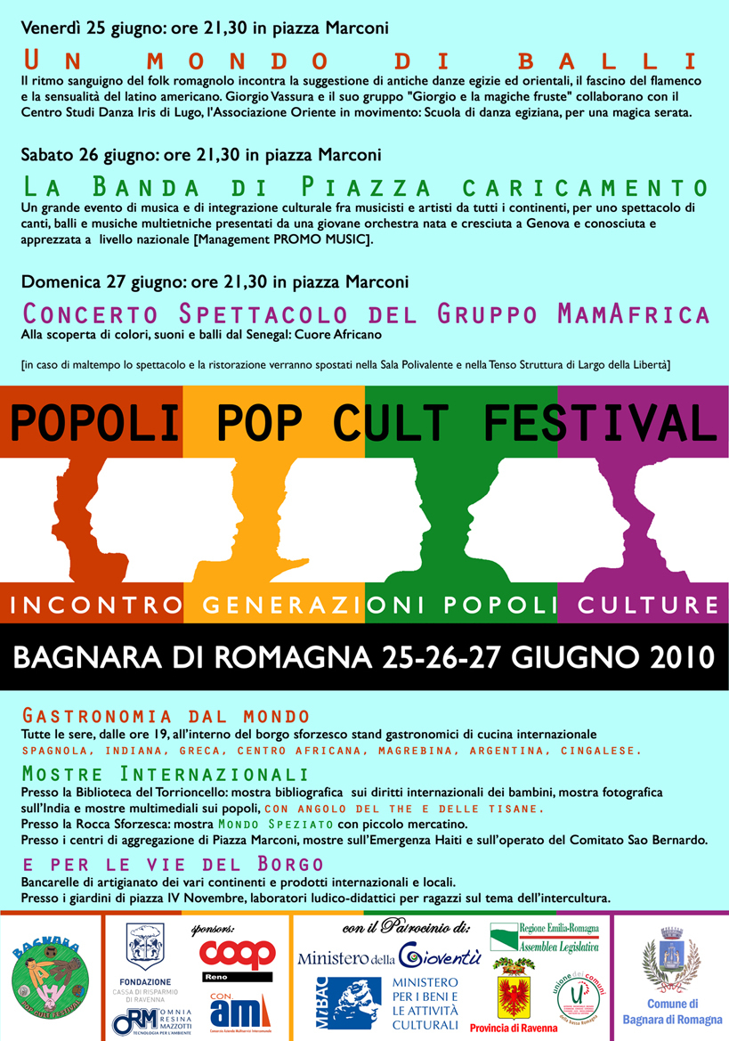 Popoli Pop Cult Festival 2010
