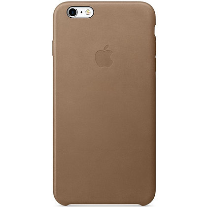 iPhone 6 Plus Leather Case Brown MGQR2