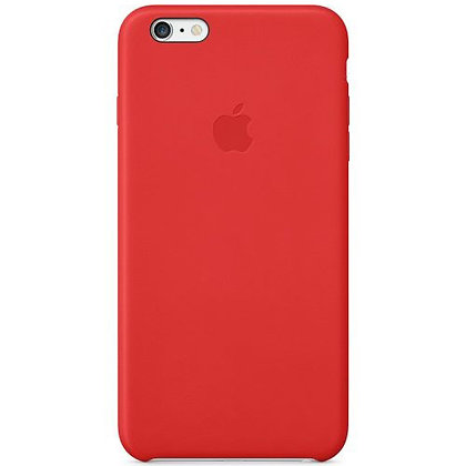 iPhone 6 Plus Leather Case Red MGQY2