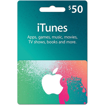 Apple iTunes Card - $50