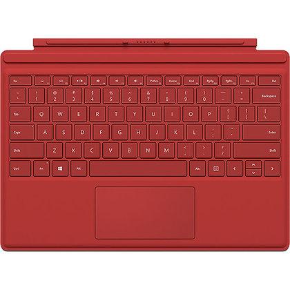 Microsoft Surface Pro4 Keyboard English Red