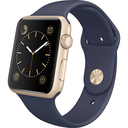 iWatch 42mm with Midnight Blue Sport Band MLC72