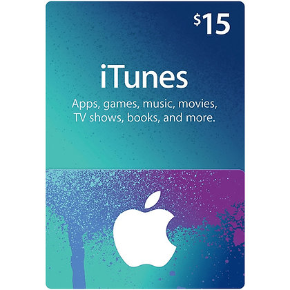 Apple iTunes Card - $15