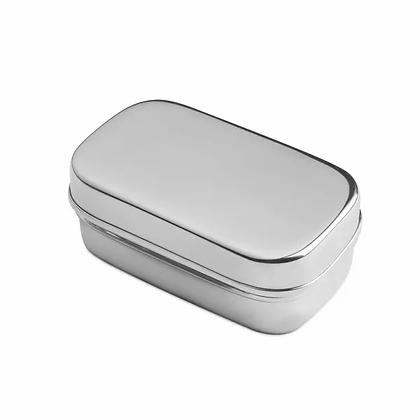 Brotzeit small pod Dose kleiner container aus Edelstahl dipper
