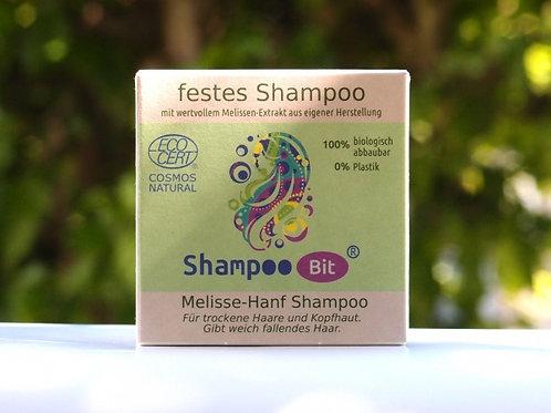Festes Shampoo Melisse-Hanf